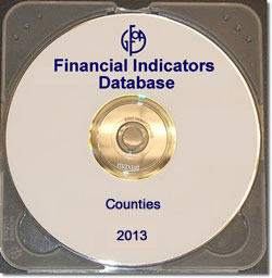 Financial Indicators Database 2013 - Counties