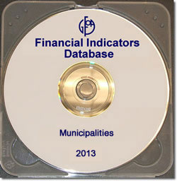 Financial Indicators Database 2013 - Municipalities
