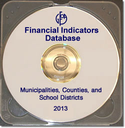 Financial Indicators Database 2013 - 3 Disk Set