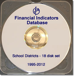 Financial Indicators Database School Districts 19-Disk Set