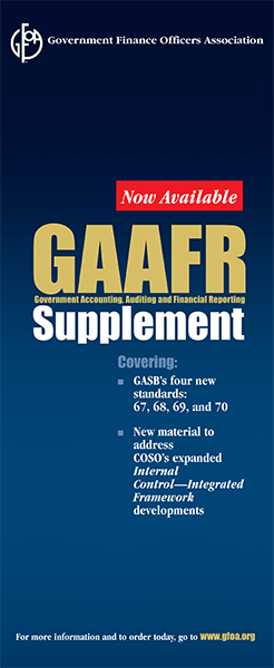 GAAFR Supplement (eBook and softcover)
